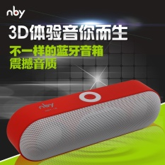 Bluetooth Speaker Portable Wireless Speaker Sound Sistem 3D Stereo Musik Surround Penopang TF AUX USB-Intl