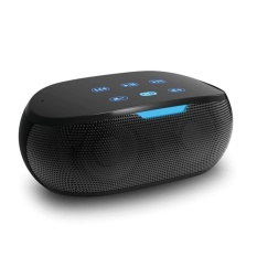 Bluetooth Speaker untuk IPhone/Android Ponsel Pintar/iPad/Tablet/Macbook (Hitam)-Intl