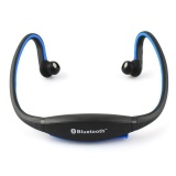 Jual Bluetooth Sports Headset Dengan Microphone Headphone Android Iphone Bth 404 Hitam Biru Original