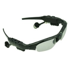 Beli Bluetooth Sunglasses Headphone Gl6 Bt Black Bluetooth Dengan Harga Terjangkau