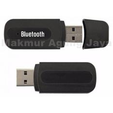Bluetooth USB Audio Music Receiver Audio Jack 3.5mm Stereo - Warna Acak