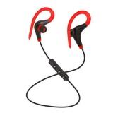 Jual Bluetooth Nirkabel Stereo Earbud Ipx4 Sweatproof Sport Earphone Dengan Mic Secure Earhook Untuk Iphone Tablet Ponsel Android Warna Merah Import