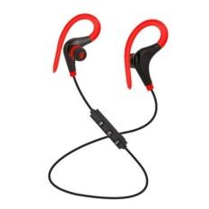Toko Bluetooth Nirkabel Stereo Earbud Ipx4 Sweatproof Sport Earphone Dengan Mic Secure Earhook Untuk Iphone Tablet Ponsel Android Warna Merah Oem Di Tiongkok