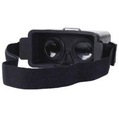 Beli Blz Diy Plastic Cardboard Head Mount Virtual Reality For Iphone 5 5S 5C Hitam Blz Dengan Harga Terjangkau
