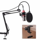Penawaran Istimewa Bm800 Microphone Standing Condenser Microphone Studio Sound Recording Shock Mount Pink Terbaru