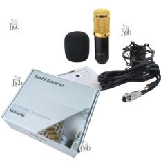 Bm800 Microphone Studio With Shock Proof Mount Murah