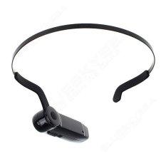 Boblov EP3 Handsfree Kepala-mount Sport Mini Kamera DV Wearablevideo Kamera Nirkabel Bluetooth Headphone Konduksi Tulang (Luar Negeri)-Intl