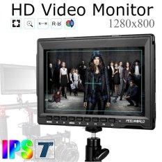 Review Pada Boblov Feelworld Fw759 Camera Field Monitor 7 Slim Hd Ips 1280X800 Hdmi For Hdv Hdslr Cameras Intl