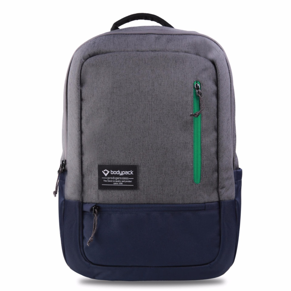 Bodypack Prodigers Tas Laptop Pria Seattle - Abu  fa82727950