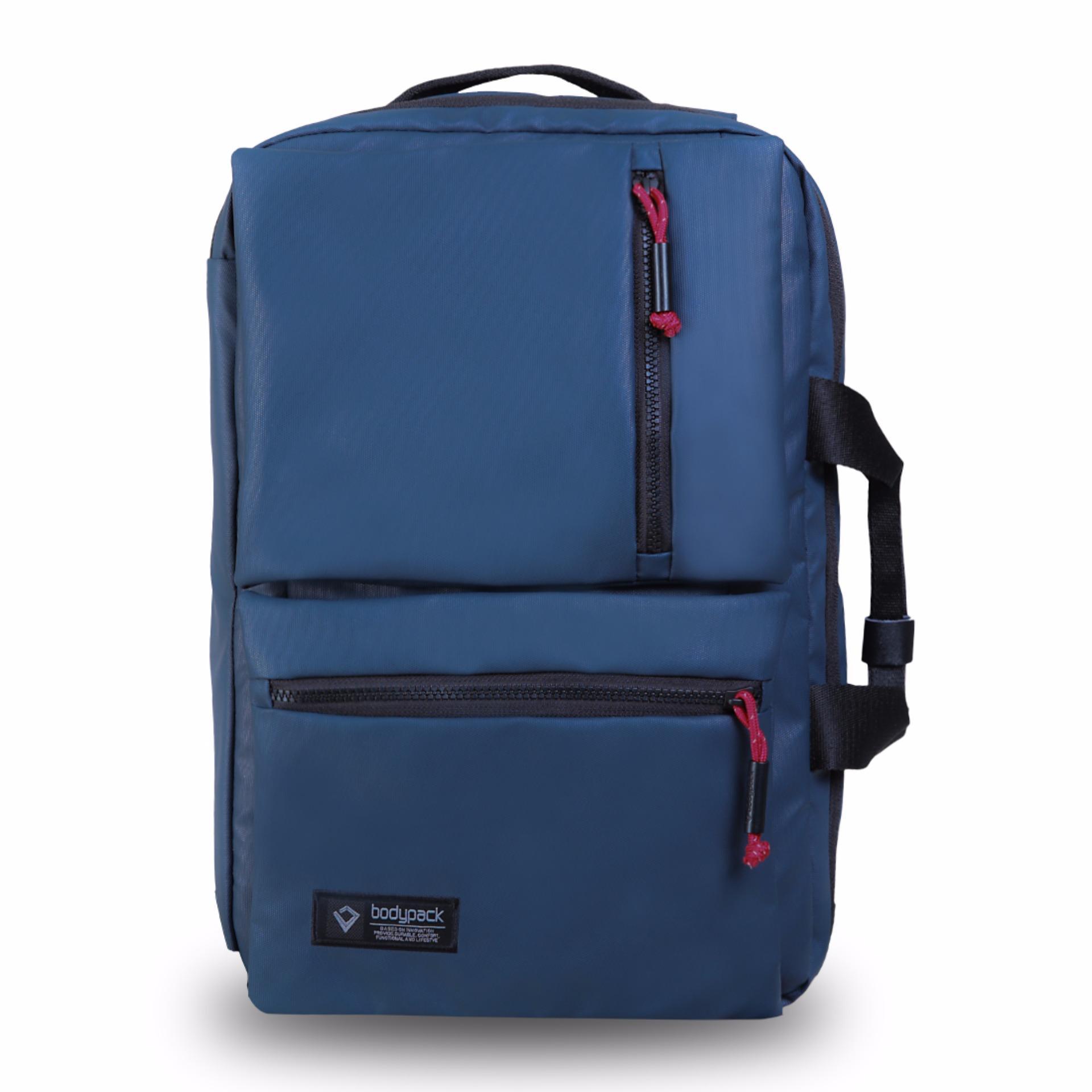 Review Bodypack Tas Laptop Trilogic Pria Purposive Biru Di Indonesia