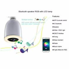 Diskon Bola Lampu Led Dengan Speaker Bluetooth White Led