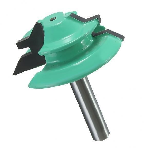 Jual Bolehdeals 45 Deg Lock Mitre Router Bit 1 4 08 Cm Batang Tenon Cutter 1 2 Dia Kerajinan Kayu Internasional Bolehdeals Ori