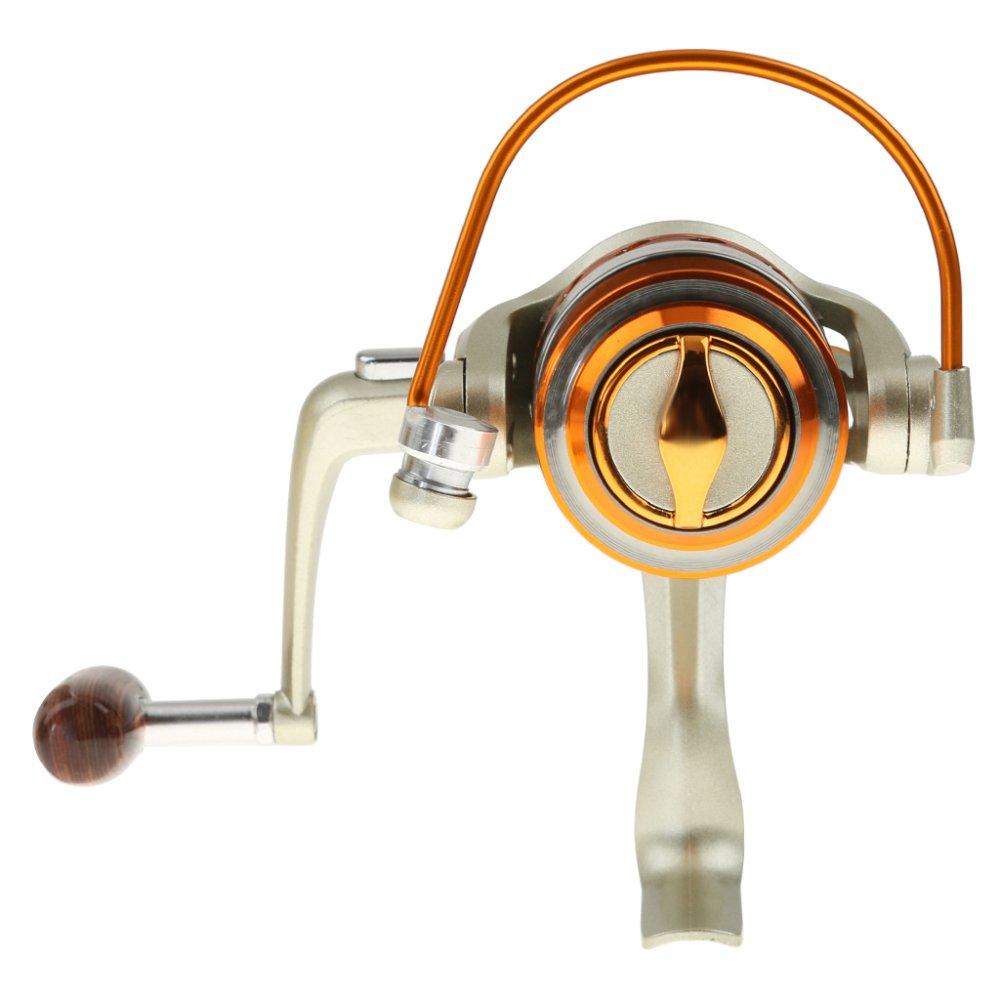 BolehDeals 6 Model Air Asin 12 Bantalan Bola 5,5: 1 Rasio Roda Gigi Spinning Reel Pancing 2-Internasional