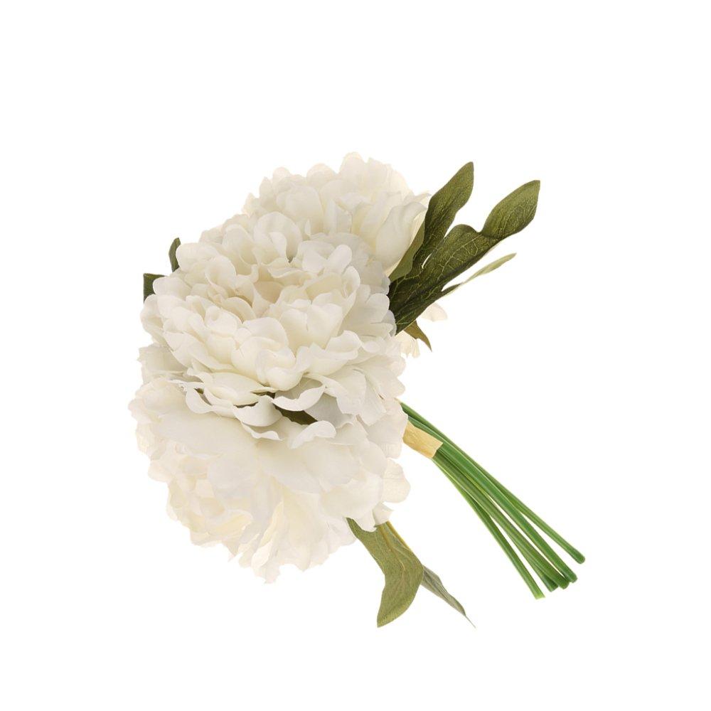 Rp 81.000 BolehDeals Buatan Palsu Peony Sutra Bunga Bridal Buket Rumah  Pernikahan Decor ... 7d83b05ca2