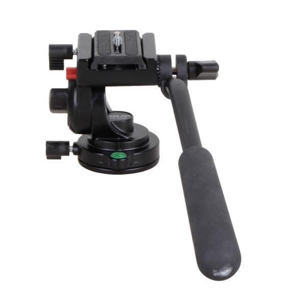 BolehDeals KH-6750 Fleksibel Tunggal Aluminium Kamera Video Cairan Kepala Tripod untuk Kamera-Intl