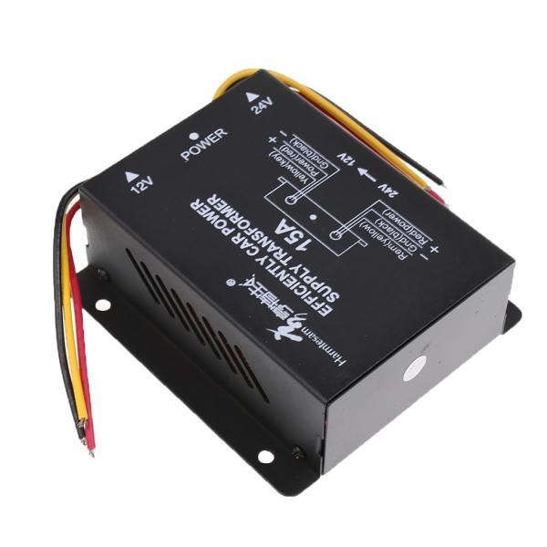 Jual Bolehdeals Mobil Dc 24 V Untuk 12 V 15A Power Supply Tegangan Step Down Transformer Konverter Internasional Branded Murah