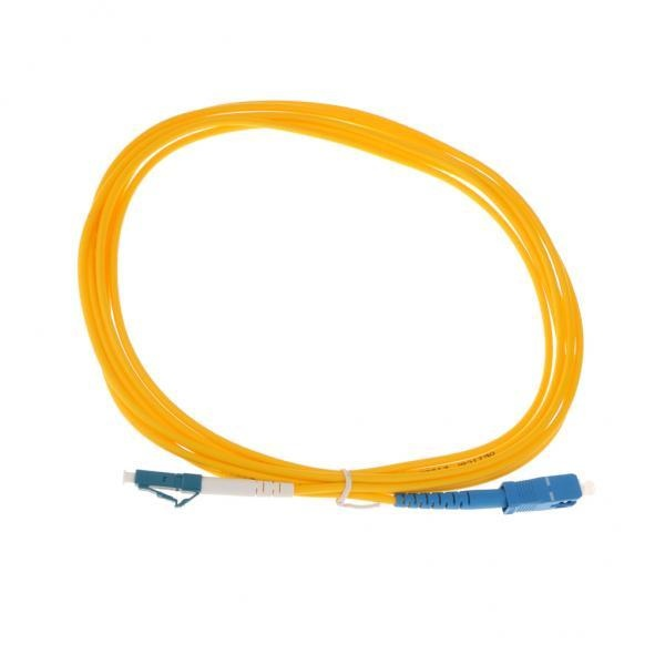 BolehDeals SC Ke LC Singlemode Single Core Serat Optik Patch Kabel Cord Line 3 Meter-Intl