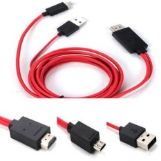 BolehDeals TV AV Cable Micro USB MHL to HDMI HDTV Adapter for Samsung Note 2 3 S3 S4 - intl
