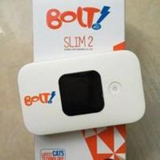 Bolt Huawei E5577 Modem Wifi Mifi 4G LTE 150Mbps Unlock 4G all GSM + By Pass Power - Putih