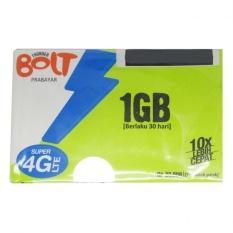 Bolt Kartu Perdana Kuota Internet 1GB Prabayar