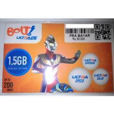 Bolt Kartu Perdana Pra Bayar 1.5GB 30 Hari