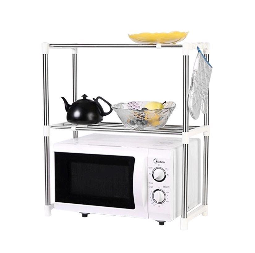 Jual Bonbon Microwave Storage Rack Rak Penyimpanan Serbaguna Termurah