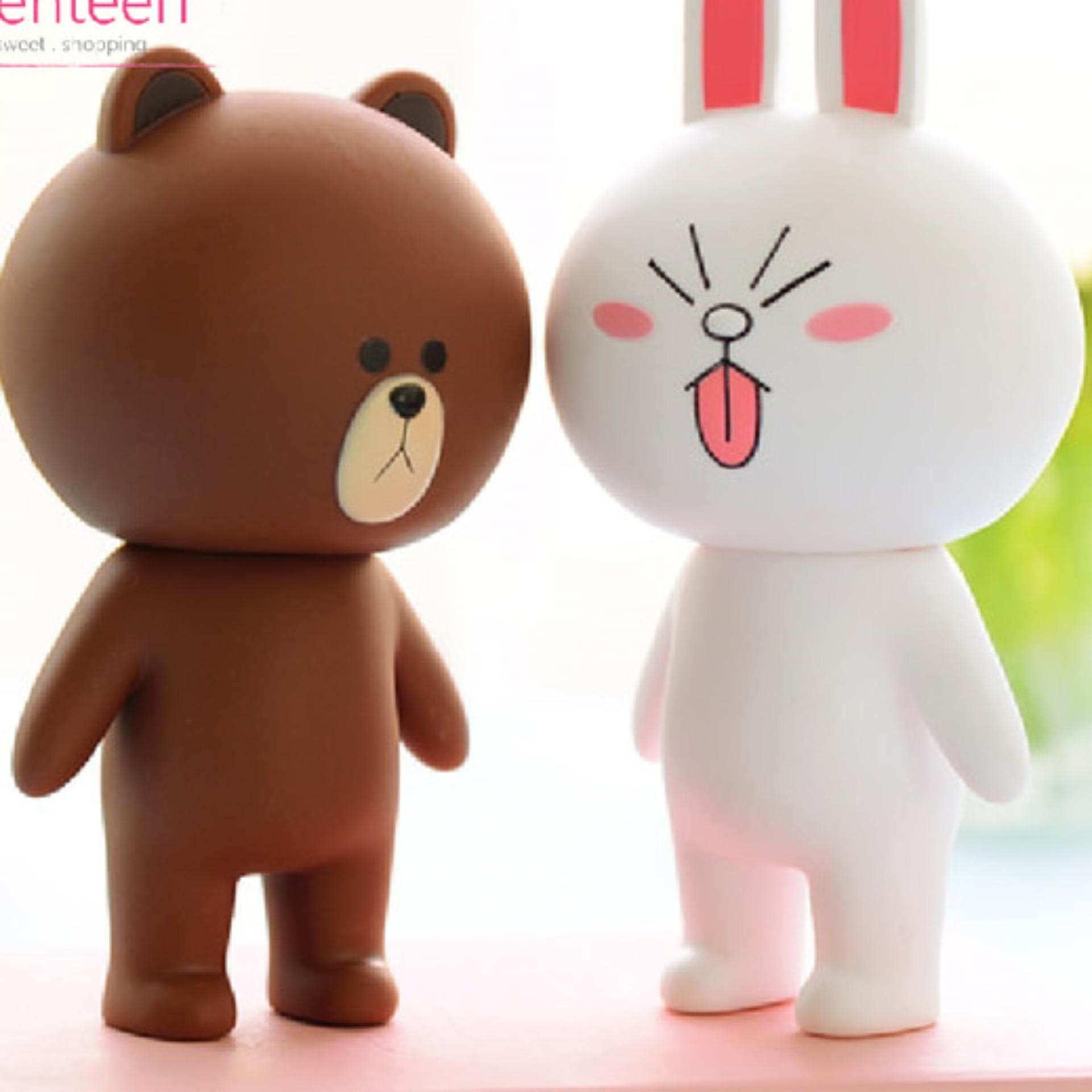 Boneka Line cony and brown 12cm