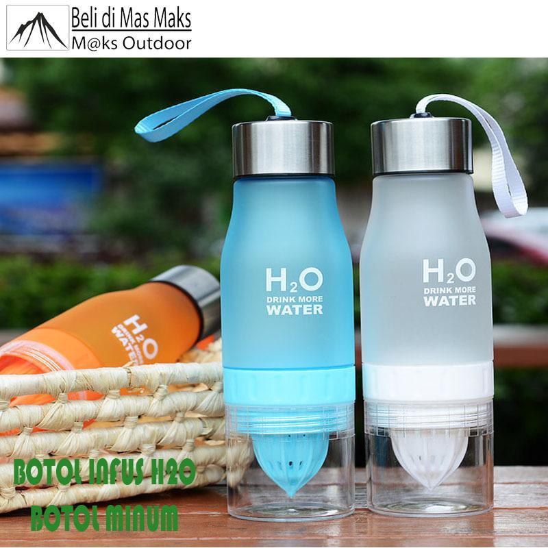 Harga Botol Minum Infuser H2O Unik Cantik Dan Elegan Branded