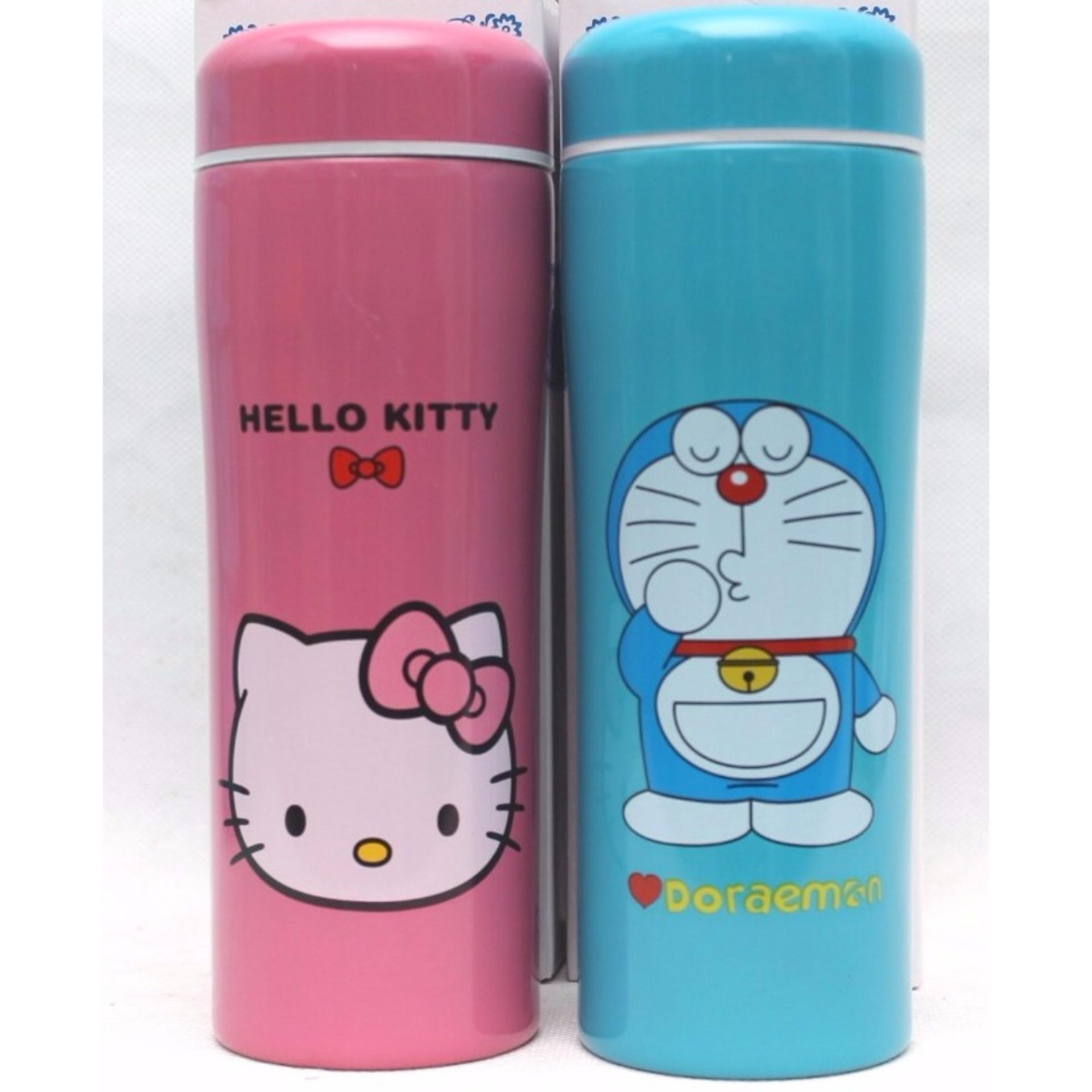 Botol Minum Termos Air Karakter Stainless Steel - Babamu - Pink