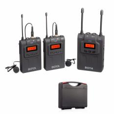 BOYA BY-WM8 UHF Dual Channel Wireless Microphone Canon/Sony/Nikon/DSLR