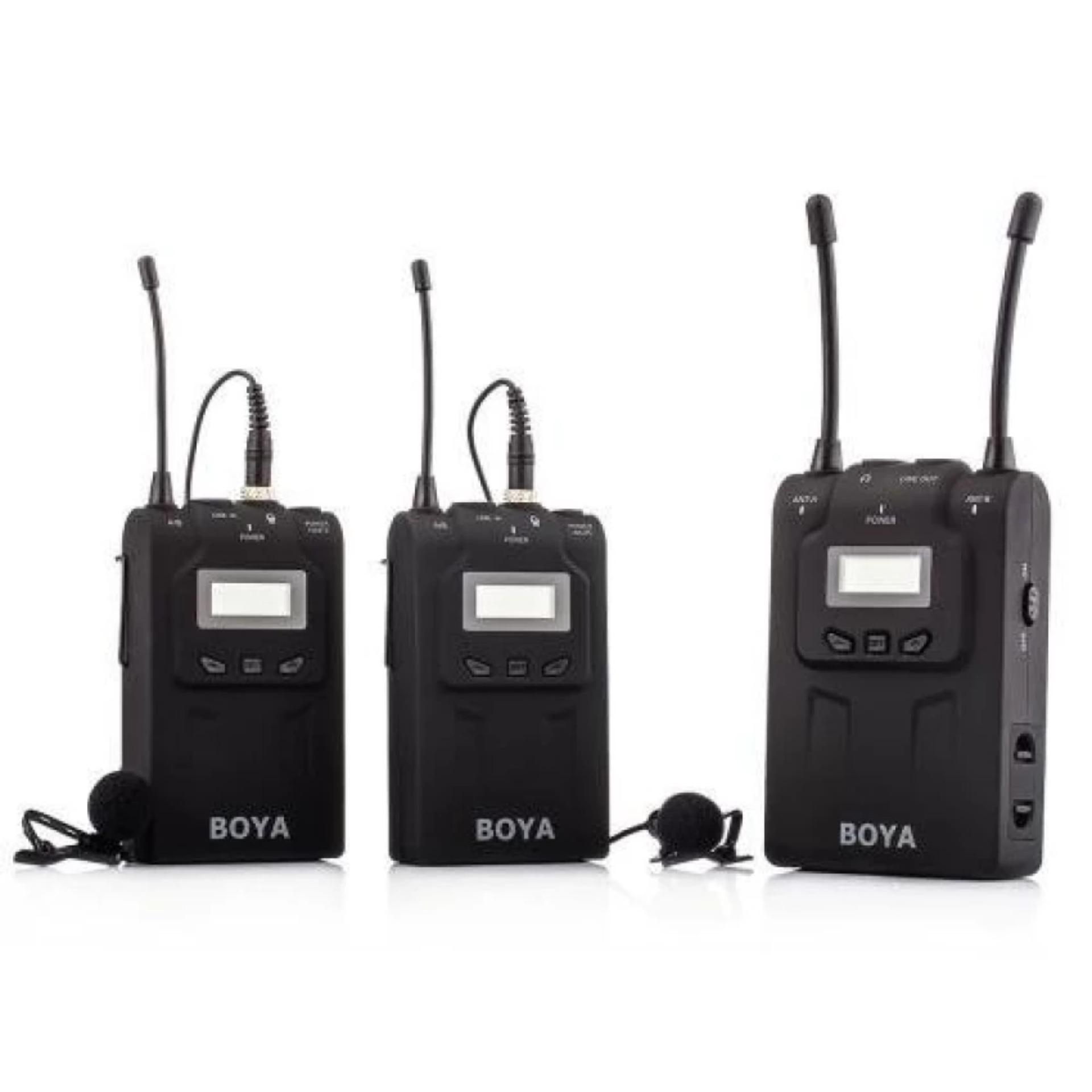 Jual Boya By Wm8 Wireless Microphone Hitam Online Dki Jakarta
