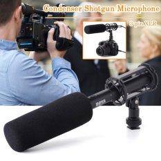 Jual Beli Boya Pvm1000 Condenser Shotgun Microphone 3 Pin Xlr For Camera Camcorder Hitam Di Dki Jakarta