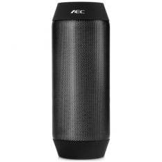 BQ-615 Pro untuk IPhone Universal Colorful Tahan Air Bluetooth Speaker Wireless NFC Super Bass Subwoofer Luar Ruangan Kotak Suara FM HITAM-Intl