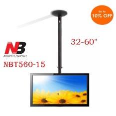Bracket Gantung North Bayou NBT560-15 Ceiling TV Bracket 32- 60 inch Tiang 1.5 M