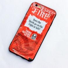 Brand New Taco Bell Saus Perlindungan Kasus Telepon Berkualitas Tinggi Soft TPU Case Cover untuk Apple IPhone 6/6 S-Intl