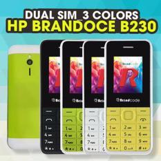 Toko Brandcode B230 Candybar Dual Sim Biru Termurah