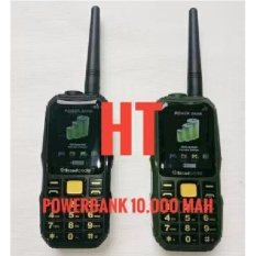 Brandcode B68 B-68 HP Bisa HT Dan Powerbank 10.000 MAH Outdoor (Prince PC10 ALDO 007) - Hijau