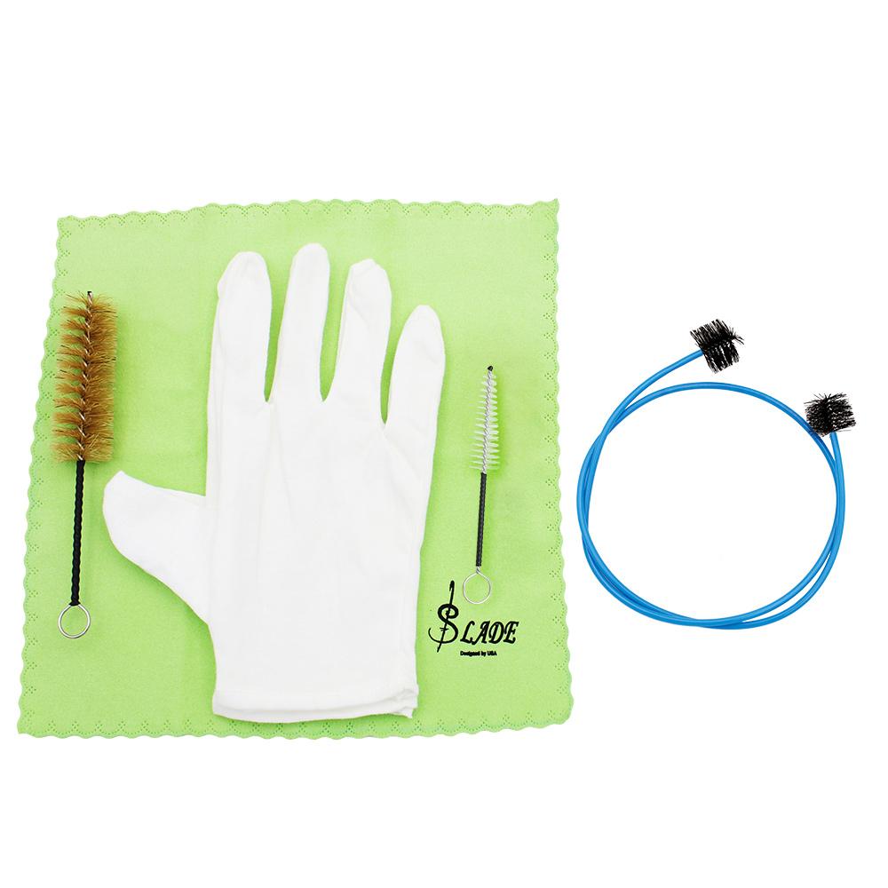 Beli Brasswind Instrumen Terompet Trombon Tuba Tanduk Cleaning Set Kit Alat Dengan Kain Pembersih Sikat Gloves Oem Online