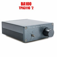 Breeze Audio BA100 HIFI Kelas D Audio Digital Power Amplifier TPA3116D2 TPA3116 ADVANCED 2*100 W Mini Home Aluminium Enclosure Amplifier-Internasional