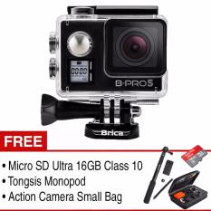 Brica Action Camera B-Pro 5 Alpha Edition Mark IIs (AE2s) Combo Pack