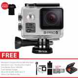 Beli Brica B Pro 5 Ae Mark Ii Ae2 4K Wifi Action Camera Combo Attanta Berrisom Silver Brica Online