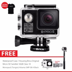 Harga Brica B Pro 5 Alpha Edition 2 Ae2 4K Wifi Action Camera Combo Attanta Supreme Hitam Yg Bagus