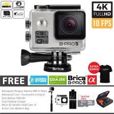 Spesifikasi Brica B Pro 5 Alpha Edition Combo Extreme Full Hd 1080P Wifi 12 Mp Silver Gratis Paket Bonus Dan Harga