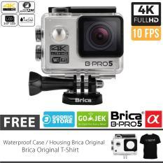 BRICA B-PRO 5 Alpha Edition Full HD 1080p Wifi Action Camera - Silver
