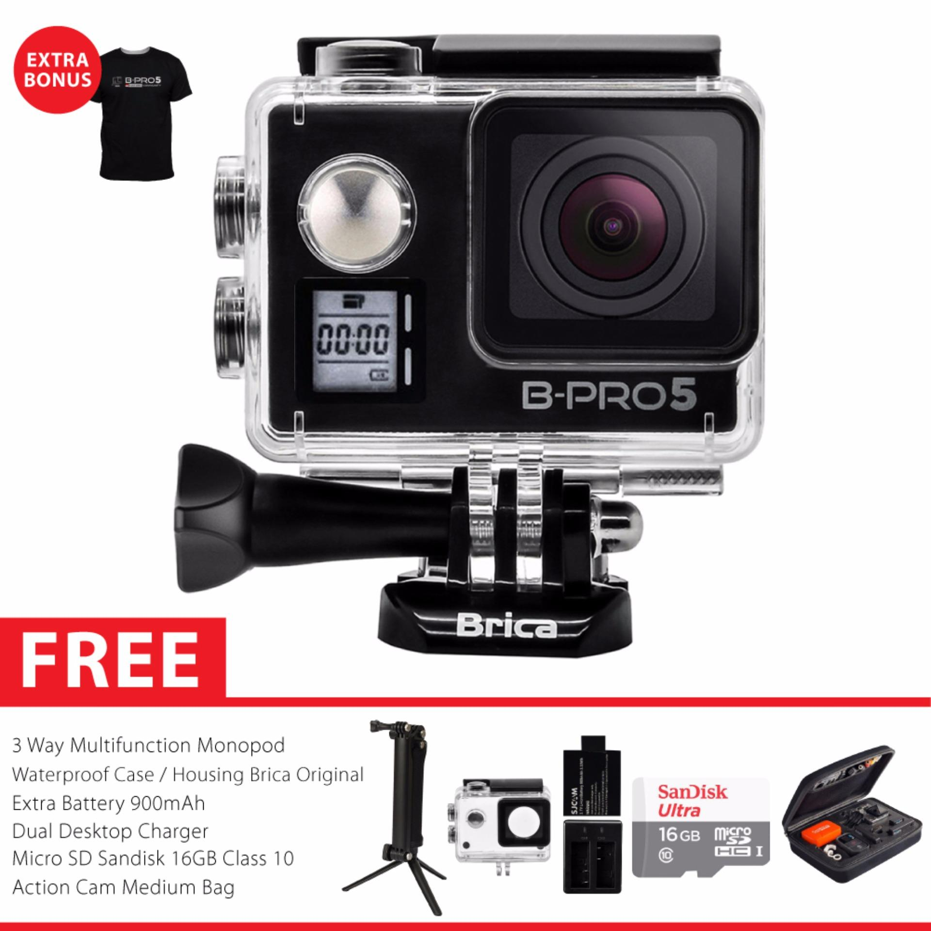 BRICA B-PRO 5 Alpha Edition Mark IIs (AE2s) WIFI 4K Combo 3 Way Awesome - Hitam