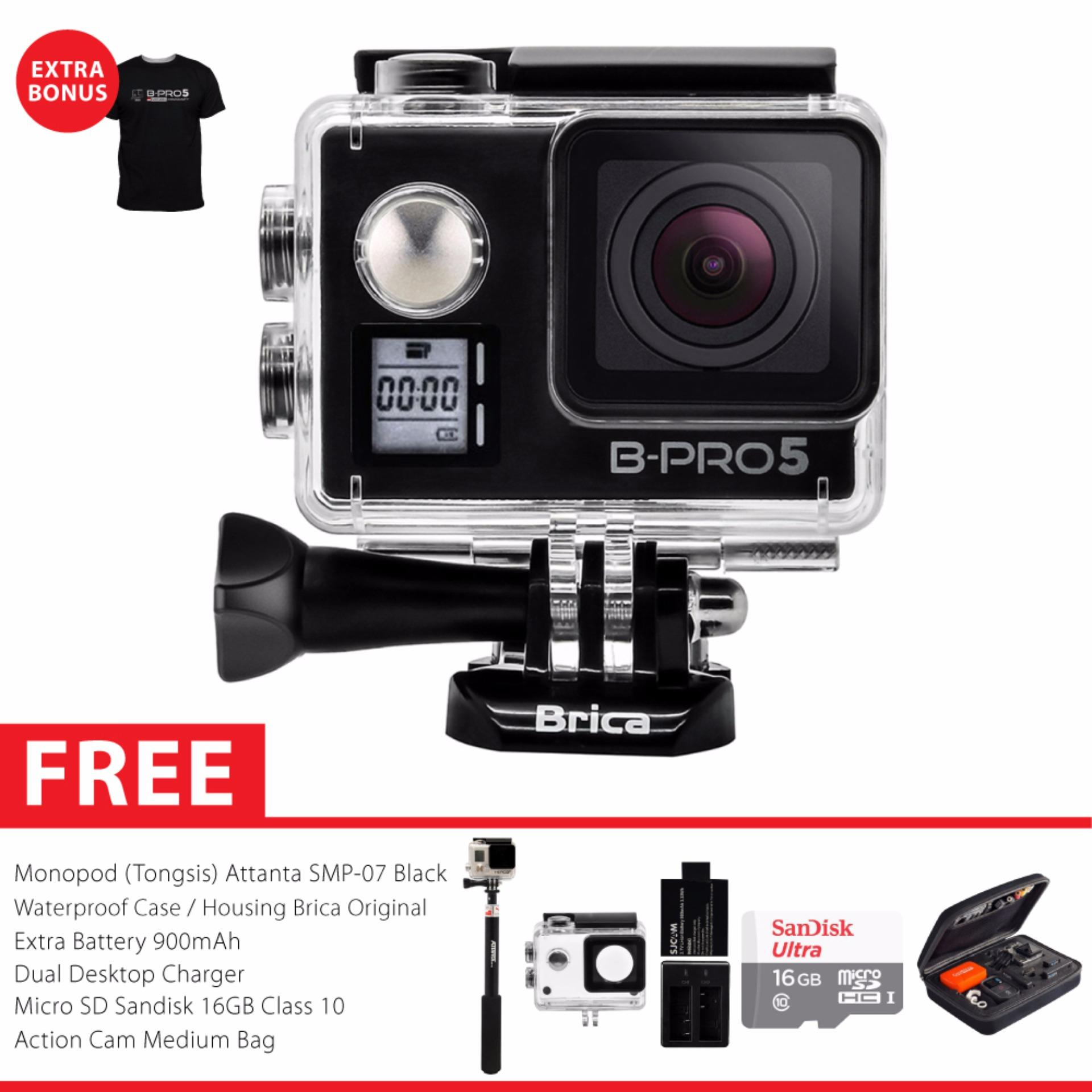BRICA B-PRO 5 Alpha Edition Mark IIs (AE2s) WIFI 4K Combo Extreme Awesome - Hitam
