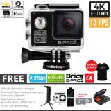 Jual Brica B Pro 5 Alpha Edition Paket Combo 3 Way Extreme Full Hd 1080P Wifi Action Camera Hitam Grosir