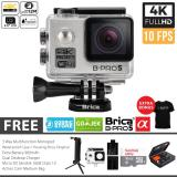 Review Terbaik Brica B Pro 5 Alpha Edition Paket Combo 3 Way Extreme Full Hd 1080P Wifi Action Camera Silver