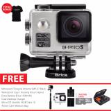 Brica B Pro 5 Alpha Edition Version 2 Ae2 4K Camera Combo Extreme Gratis Paket Bonus Original Battery 1000Mah Silver Murah