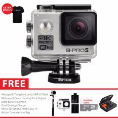 Ulasan Lengkap Brica B Pro 5 Alpha Edition Version 2 Ae2 4K Camera Combo Extreme Silver Gratis Paket Bonus